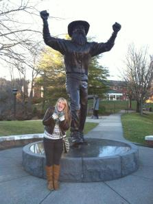 me and the mountaineer!